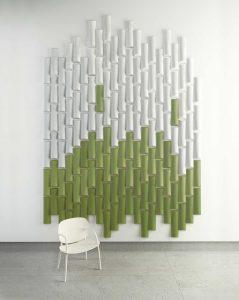 Bürogestaltung mit Akustik. bamboo by nuklee