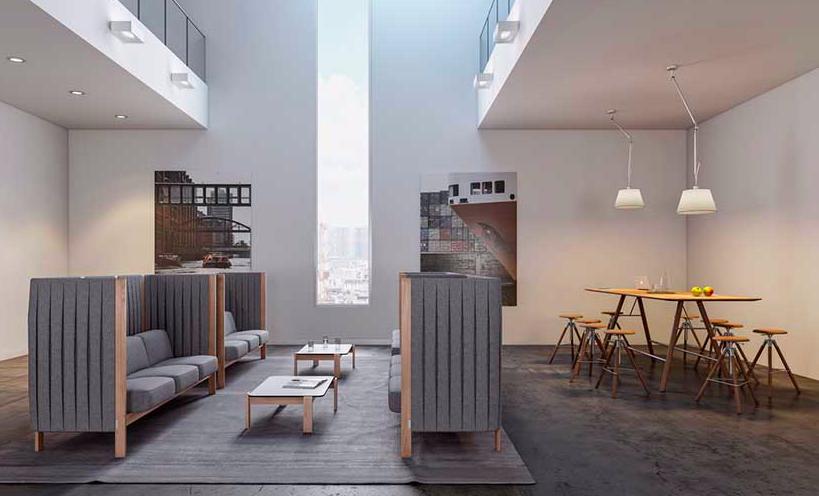 Tische, Stühle, Sideboards und Loungemöbel produziert Girsberger.