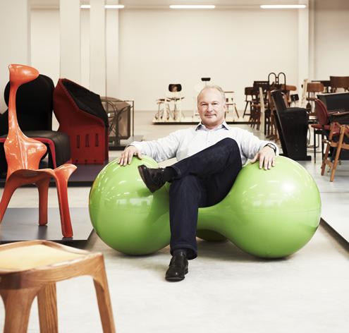 Werner Löffler sammelt Sitzmöbel