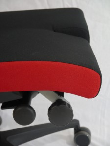 Geteilte Sitzfläche des Arthodesensitzes