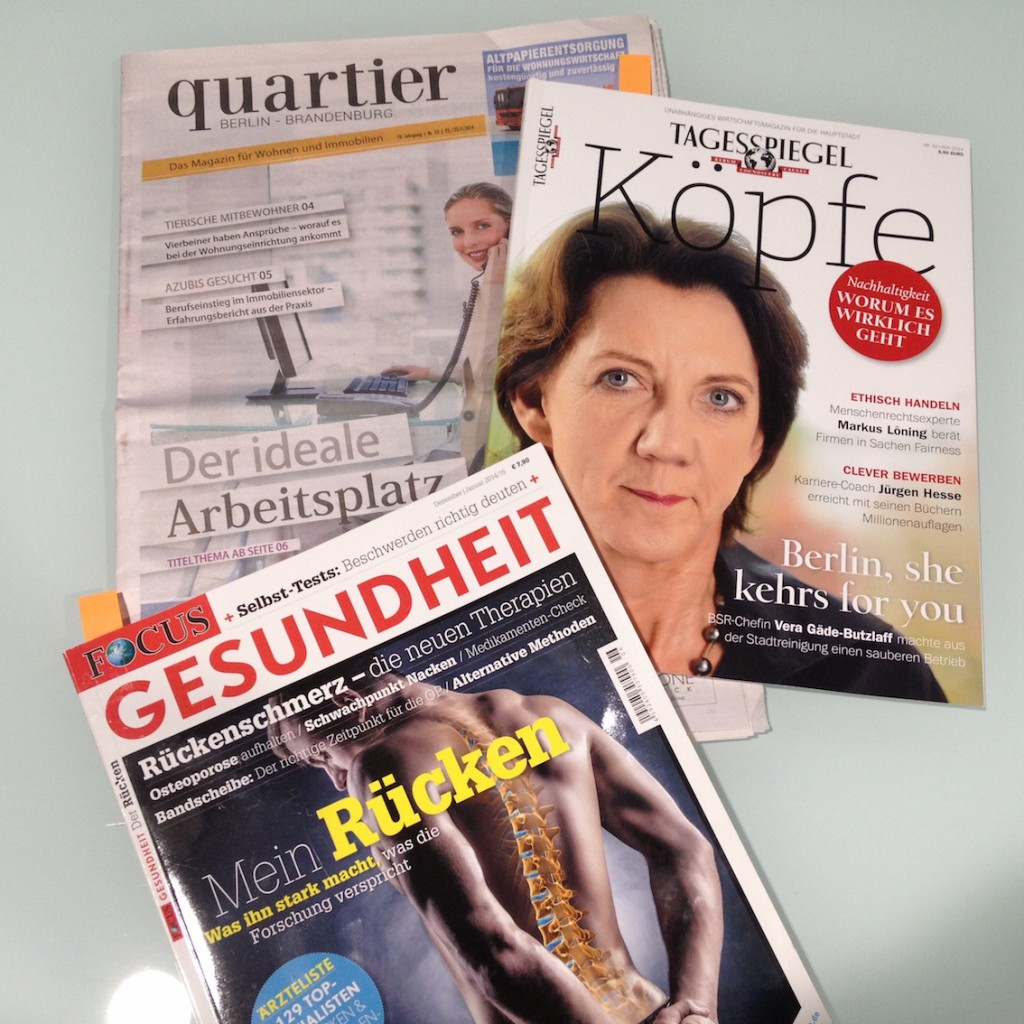 Presseresonanz 2014_ALLTEC Bürokonzept