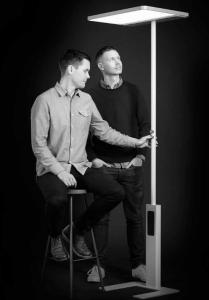 Aus Anspruch wird Wirklichkeit: Die Designer und ihre Stehleuchte 'Linea'