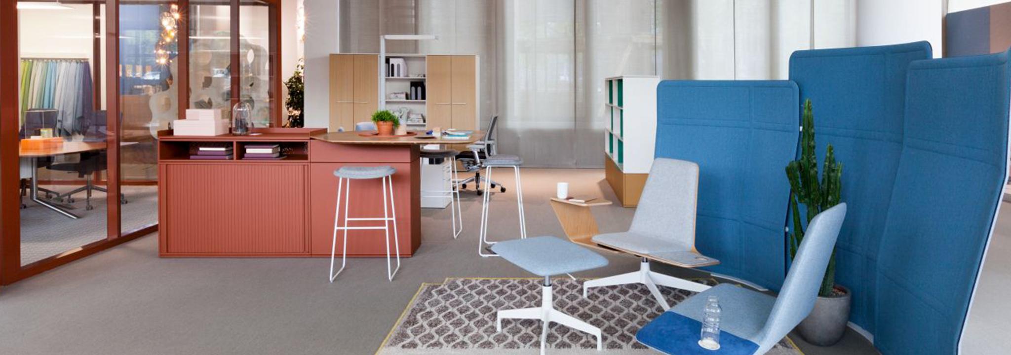 ALLTEC Bürokonzept gestaltet ergonomische und motivierende Arbeitsplätze.