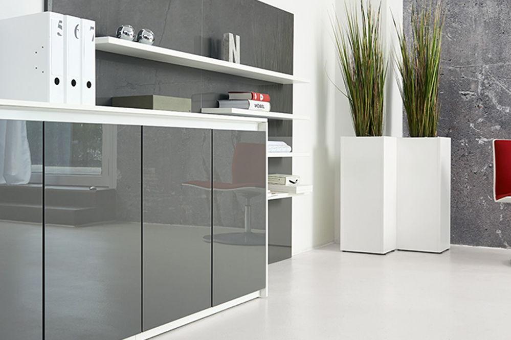 schrank und regalsysteme f r 39 s b ro alltec b rokonzept. Black Bedroom Furniture Sets. Home Design Ideas