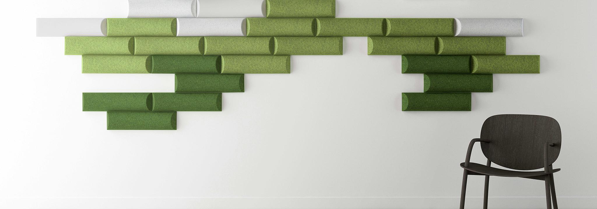 Akustik-Design: Mit akustischen Lösungen gestaltet ALLTEC Bürokonzept Räume