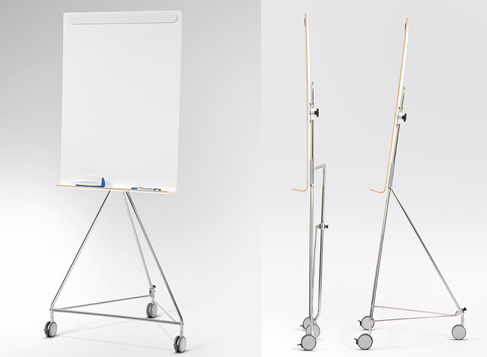Accessoires im Büro: Faltbares Whiteboard Osaka