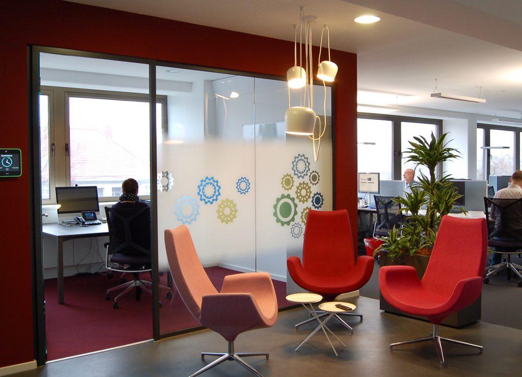 Projekt Comstor: Wenn das Büro auf wohnliche Athmosphäre trifft